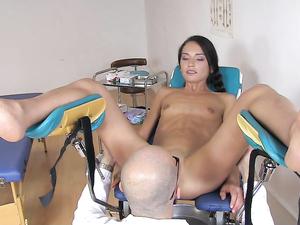 Big Dick Doctor Fucking Her Tight Teenage Asshole