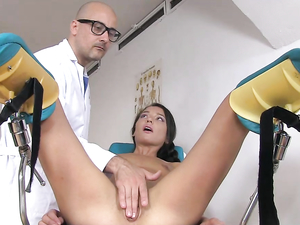 Big Dick Doctor Fucking Her Tight Teenage Asshole