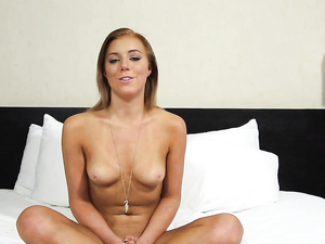 Hot Hotel Room Porn Audition With A Cute Teen