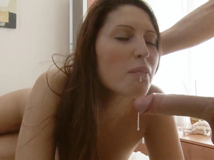 Vibrator Makes An Oiled Teen Horny For His Dick