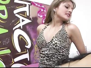 Latinas In Slutty Leopard Print Have Lesbian Sex