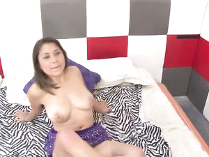 Cute Latin Chick Makes A Hot Reality Porn Video