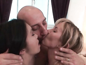Whores Compete To Give Him The Best Blowjob