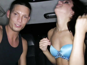 Party Girl And The Limo Driver Fuck Like Crazy