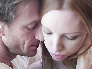 Dreamy Young Redhead Katy Kiss Has Beautiful Sex