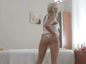 Russian Cutie With A Tight Cunt Fucks Her Masseur