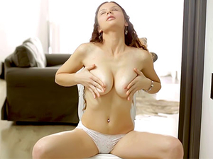 Beautiful Teen Does A Perfect Solo Striptease