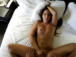 Sexy Pierced Belly Button On Your Cock Taking Escort