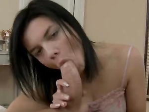 Worshipful BJ Of A Big Cock Gets The Teen Laid
