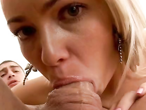 Gagging BJ Babe Wants His Dick Up Her Ass