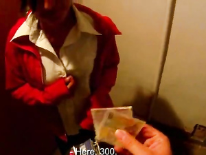 Girl Gets Money To Show Us Her Titties