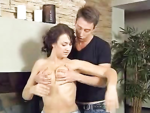Teen In A Miniskirt Fucked From Behind