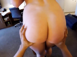 Curvaceous Escort Fucked On The Couch