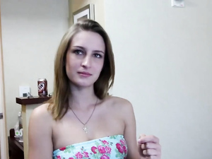 Pretty Chick Fucked Doggystyle By His Big Cock
