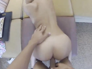 Fucking In POV With A Gorgeous Ass Girl